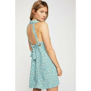NWT Free People C'est La Vie Mini Dress Size L